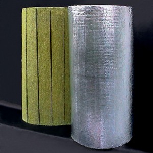 Saltele lamelare vata bazaltica cu aluminiu Larock 32 ALS - Vata bazaltica pentru izolatii tehnice - ROCKWOOL