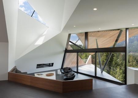 Casa Hadaway - O casa contemporana in varf de munte