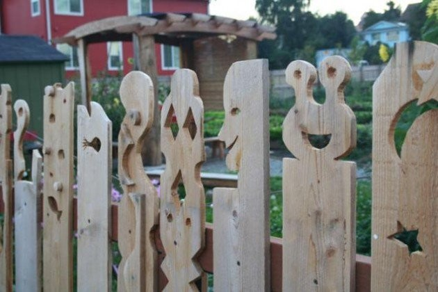 Gardul sculptat - Cateva idei altfel pentru garduletele decorative de gradina