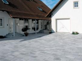 Pavaj cu suprafata marmorata Umbriano - Pavaje - Semmelrock