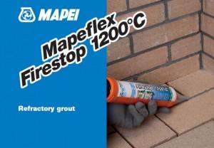 Mastic refractar cu uscare rapida - Mapeflex Firestop -  Chituri siliconice