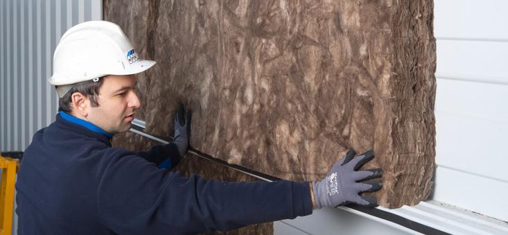 Pasul 2 - Solutia optima pentru izolarea cladirilor metalice