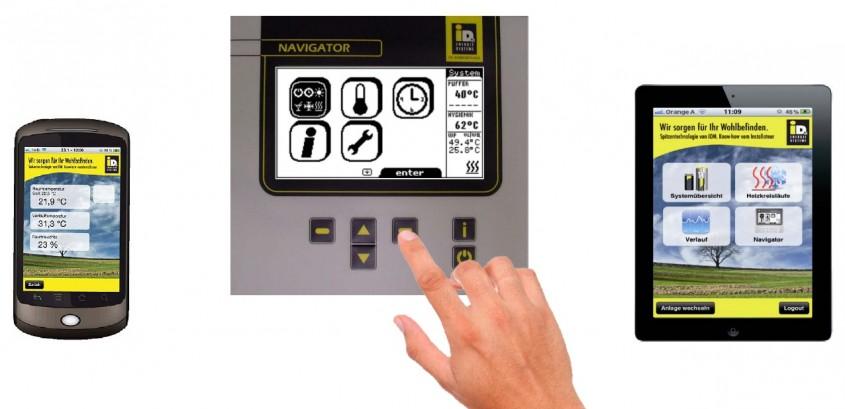 Automatizare IDM - NAVIGATOR® pentru pompe de caldura aer-apa IDM TERRA CL (HGL) - Automatizare IDM