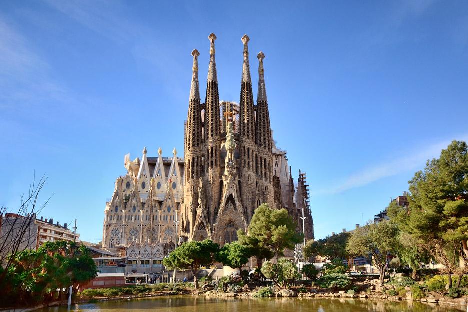 Sagrada Familia - Arhitectura din operele lui Antonio Gaudi