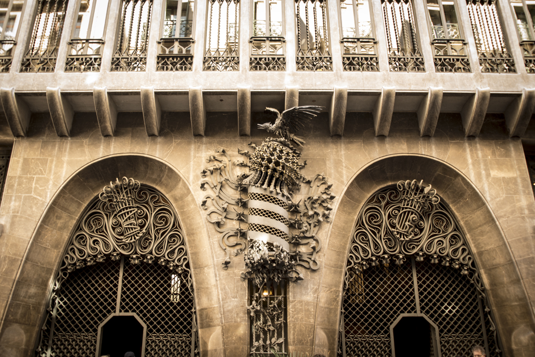 Palatul Guell - Arhitectura din operele lui Antonio Gaudi