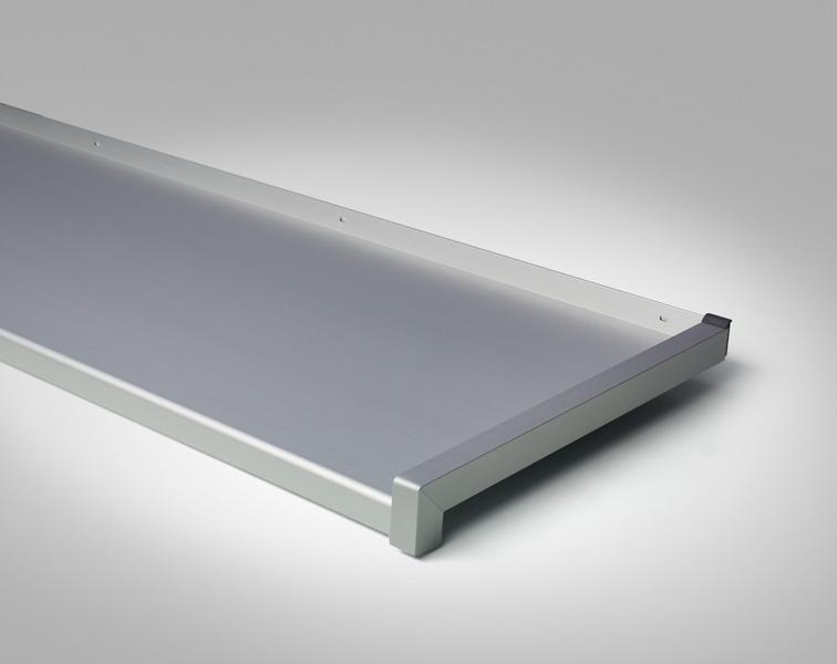 Glaf din Aluminiu - Glafurile din Aluminiu