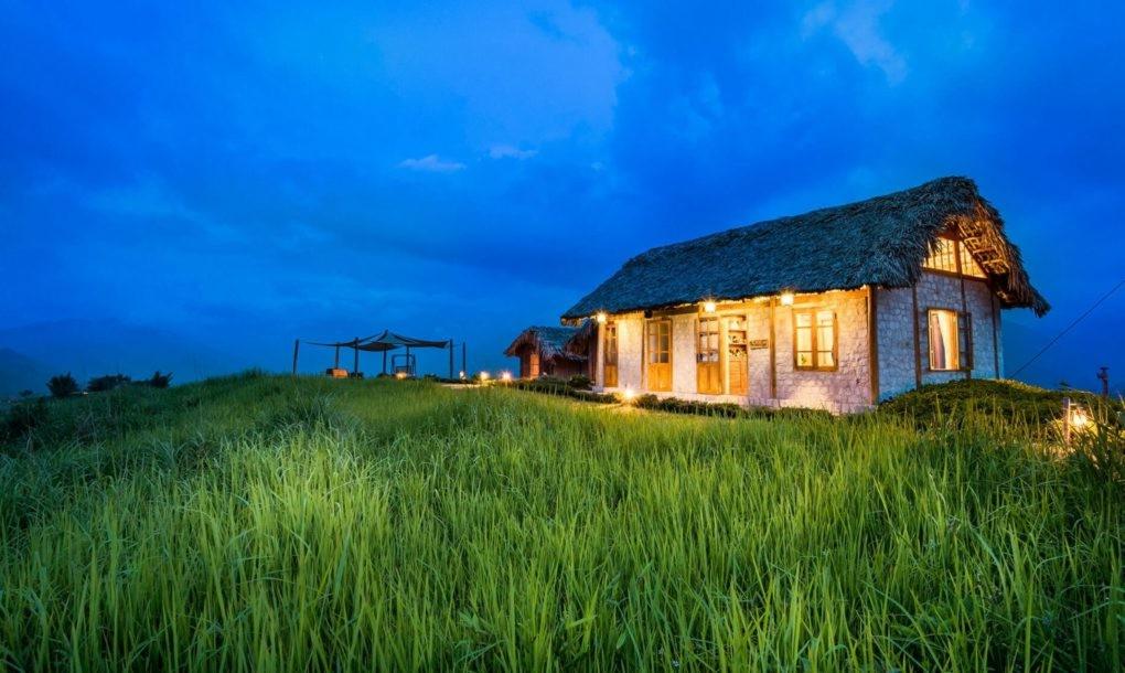 Complex de bungalouri ascuns în versantul montan vietnamez - Complex de bungalouri ascuns în versantul montan vietnamez