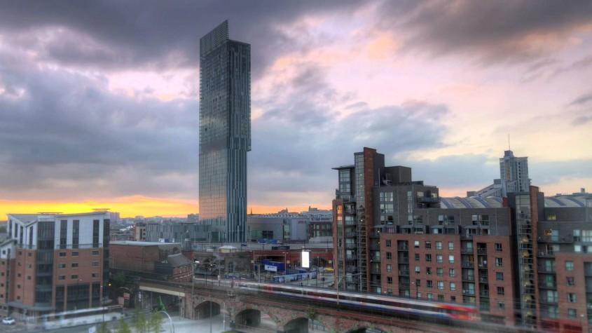 Hilton Manchester Deansgate Hotel Manchester - 3 exemple de cladiri care asigura cele mai inalte standarde