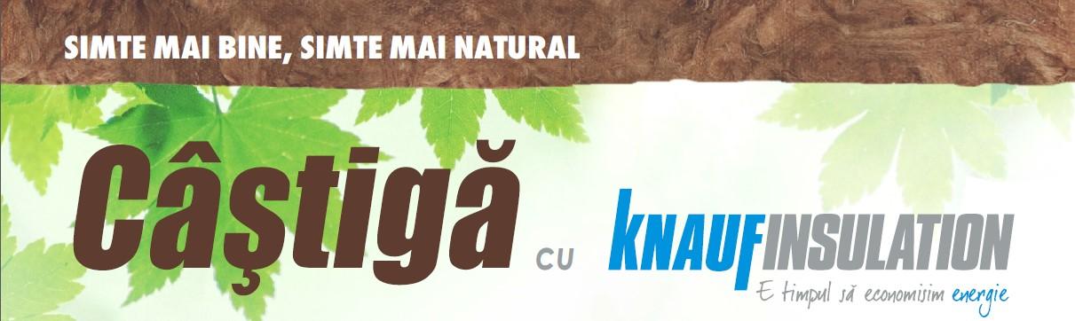 Castiga cu Knauf Insulation - Castiga cu Knauf Insulation