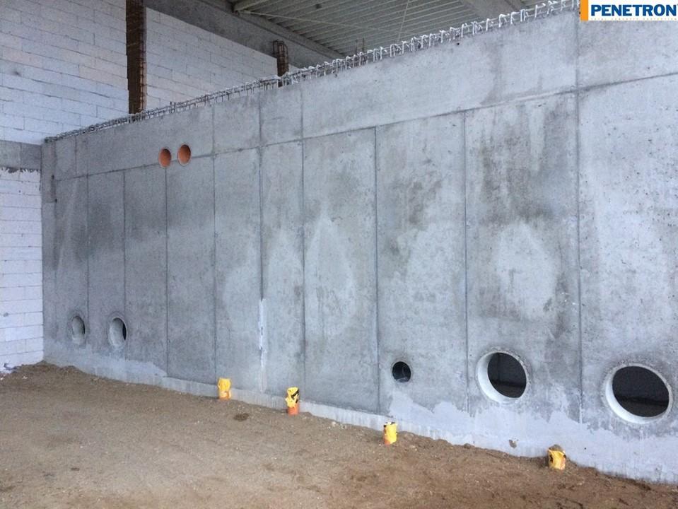 Impermeabilizare bazin de incendiu Systronics - Arad - Impermeabilizare bazin de incendiu Systronics - Arad