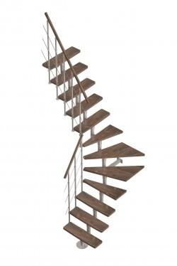 Scari pe structura metalica Arizona - Gama de scari SPATII REDUSE
