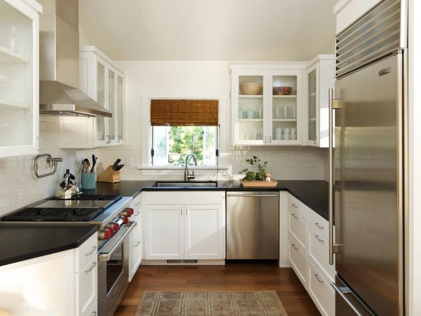 Idei de amenajare pentru bucataria in forma de U - Idei de amenajare pentru bucataria in