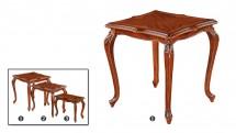 Set de 3 Masute pentru ceai - Mare - Mobilier Colectia Toscana