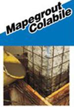Mortar de reparatie a structurilor din beton, foarte fluid, cu aplicare prin turnare - Mapegrout Colabile (HI-Flow) - Gleturi, tencuieli fine