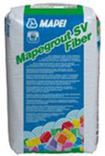 Mortar fluid, armat suplimentar cu fibre, pentru reparatii rapide a suprafetelor din beton - Mapegrout SV Fiber - Gleturi, tencuieli fine