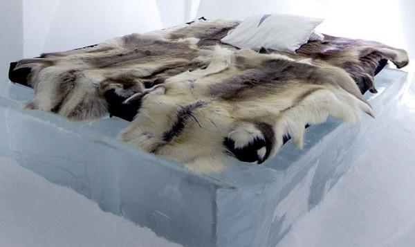 Camerele Ice Rooms  - Design deosebit pentru un hotel de gheata