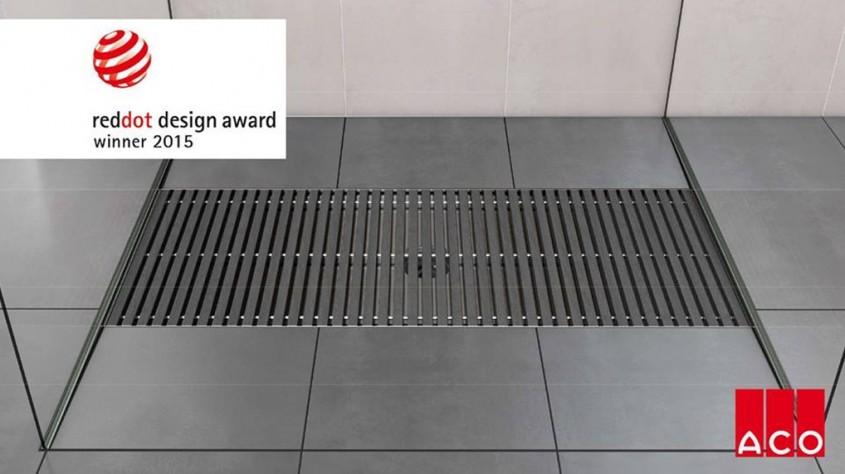 Gratarele de baie ACO Walk-In au obtinut premiul iF Design 2015 - Gratarele de baie ACO
