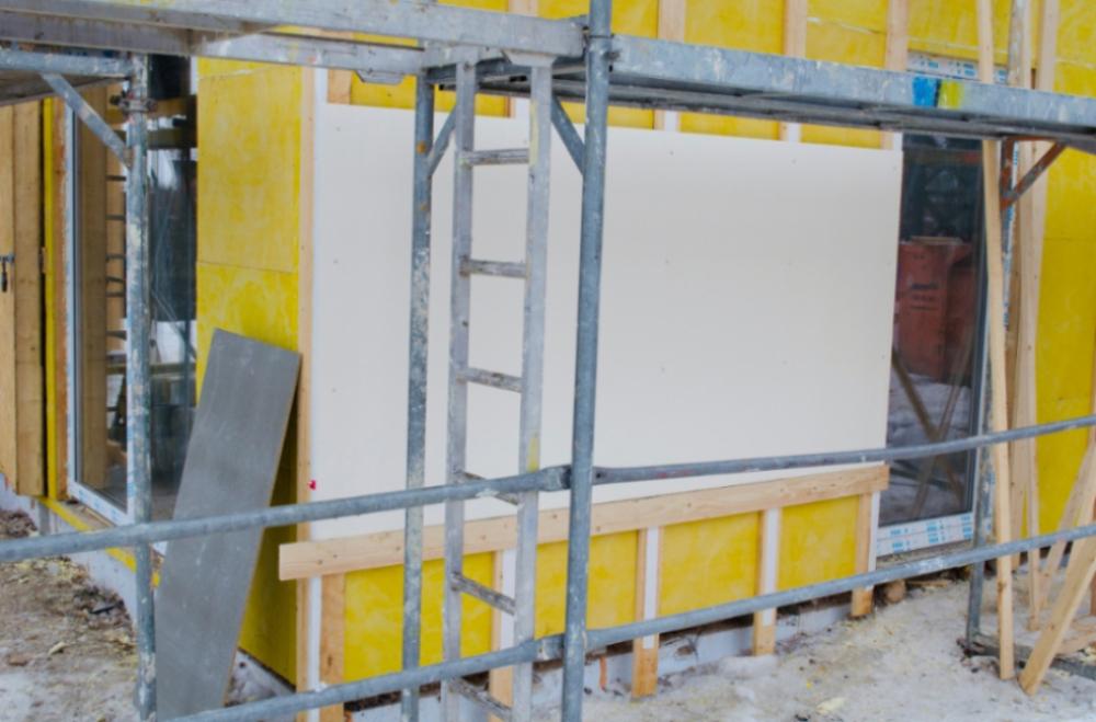 Fatada constructie - Fatada ventilata acoperita cu placi pentru exterior StoneREX