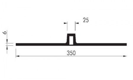 Profil etansare cu prindere mecanica AMG 350 - Profile etansare cu prindere mecanica