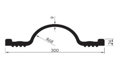 Profil etansare cu prindere mecanica OK 30 - Profile etansare cu prindere mecanica