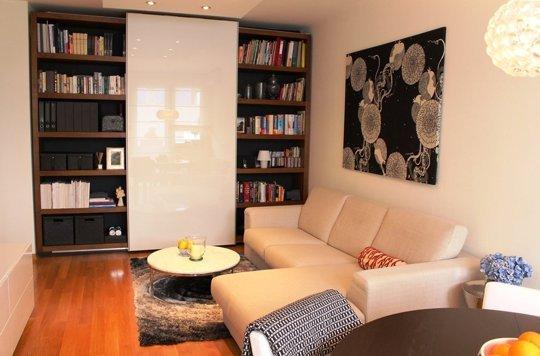 Idei inspirate intr-un apartament de 50mp din Zagreb - Apartament - living