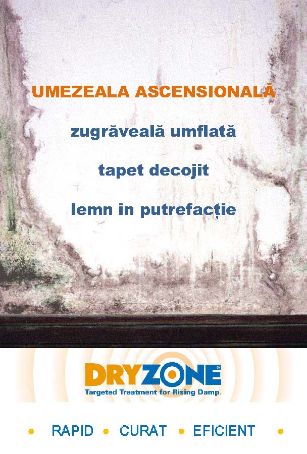 DRYZONE - Tratament contra umezelii ascensionale - DRYZONE