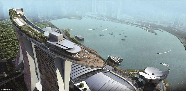 Marina Bay Sands Resort - proiect de referinta MAPEI - Marina Bay Sands Resort - proiect