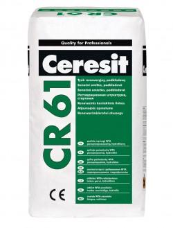 CR 61 - Mortar pentru tencuiala de renovare de substrat - Componentele sistemului PCC - Ceresit