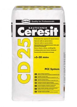 Mortar fin de reparatie a betonului pentru grosimi de la 5 la 30 mm - CD 25 - Componentele sistemului PCC - Ceresit