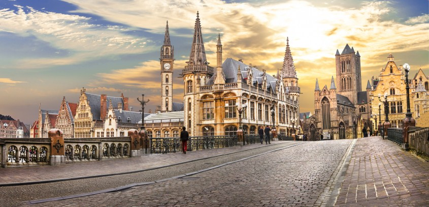Ghent - 10 orase medievale din Europa ce par desprinse din basme