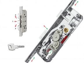 Broasca multipunct cu inchidere din cilindru - Sicurtop multipunct - Inchideri Multipunct