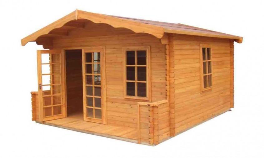 Casa din lemn - Case din lemn, beton sau metal?