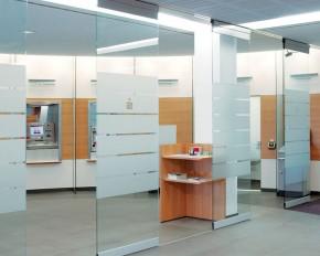 Sistem de pereti glisanti vitrati shopMaster - GSW-A - Pereti glisanti vitrati - G-U