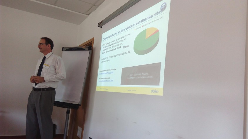 Doka Safety prezentare - Eveniment DOKA SAFETY NETWORK 2017