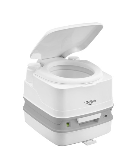 Toaleta ecologica portabila THETFORD PORTA POTTI 335 - Cum functioneaza toaleta Porta Potti Qube?