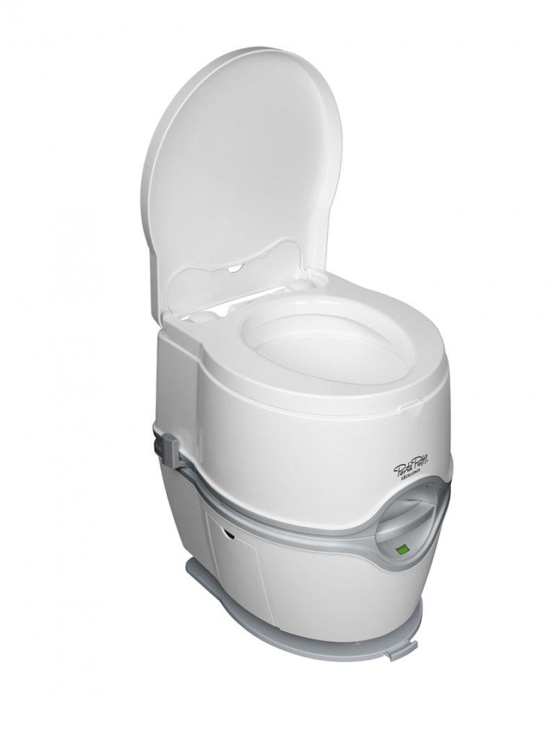 Toaleta mobila, wc portabil PORTA POTTI EXCELLENCE - Cum functioneaza toaleta Porta Potti Qube?