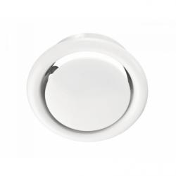 Anemostat metalic cu flansa diam 100mm - Accesorii ventilatie grile pvc si metalice