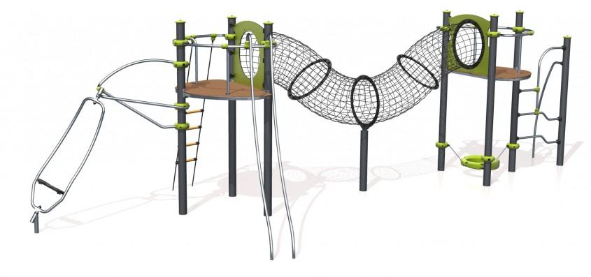 Montajul echipamentelor pentru loc de joaca - NOU! Echipamente pentru locuri de joaca de la Indfloor