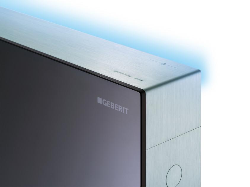 Geberit Monolith Plus lumina de orientare turcoaz - Geberit Monolith Plus pentru vase WC - un