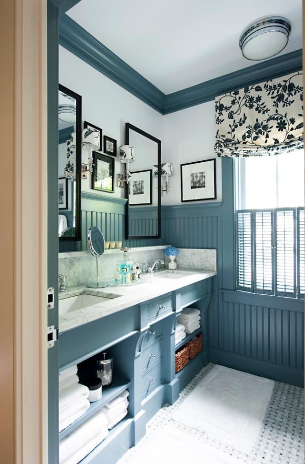 Nuanțe sofisticate pe care trebuie să le încerci în locuință - Albastru fumuriu - Nuanțe sofisticate