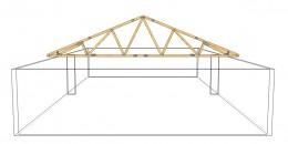 Acoperisuri pentru case executate din lemn sau metal - Acoperisuri si mansardari pe structura metalica sau
