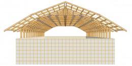 Mansardari din lemn sau metal - Acoperisuri si mansardari pe structura metalica sau din lemn -