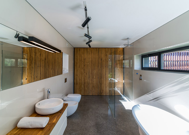 Fatade integral realizate din gabioane, o alegere inedita pentru o casa - Locuinta unifamiliala - interior