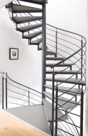 Scari spirala - Scari spirala - elicoidale - cu structura metalica