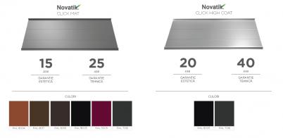 Garantie Culori - Novatik CLICK Mat si High Coat - Garantie