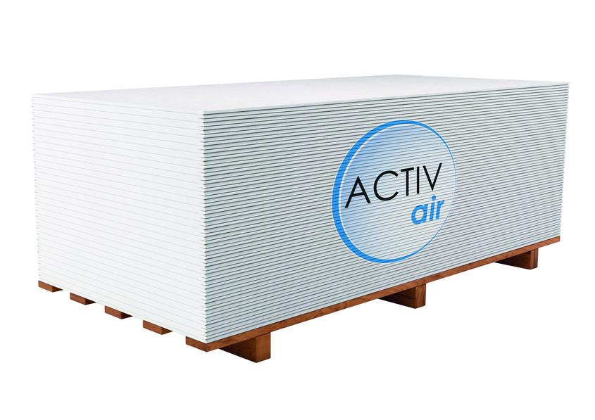 Aer mai curat acasa la birou si oriunde in interior cu Rigips Activ'Air® - Aer mai