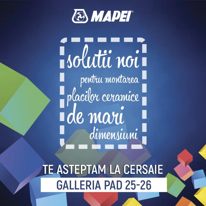Descopera noutatile Mapei la Cersaie 2016! - Descopera noutatile Mapei la Cersaie 2016!