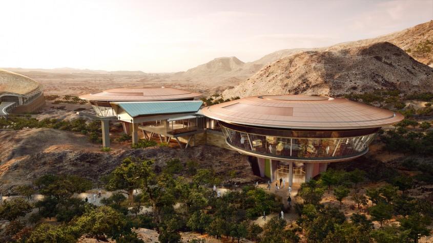 Gradina Botanica Oman - Primele imagini cu proiectul celei mai mari grădini botanice din lume