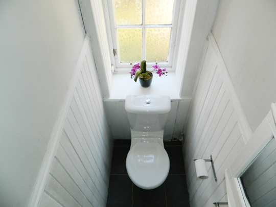 Solutie ingenioasa pentru o baie ingusta - Solutie ingenioasa pentru o baie ingusta