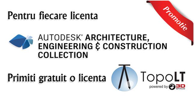 Licente Autodesk cu TopoLT cadou! - Licente Autodesk cu TopoLT cadou!